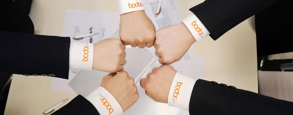 Bodor「社員の団結力」